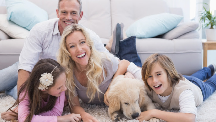 Indoor Air Quality Happy Family